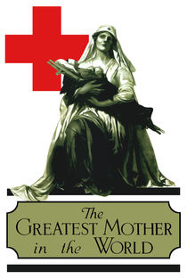 The Greatest Mother In The World -- Red Cross by warishellstore