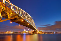 Sydney at night by Sara Winter