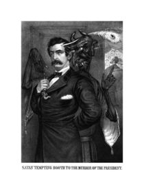 Satan Tempting John Wilkes Booth von warishellstore