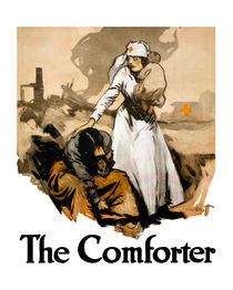 The Comforter -- Red Cross Nurse by warishellstore