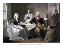 Washington And His Family von warishellstore
