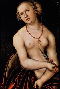 Lucretia von Lucas Cranach the Elder