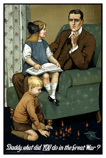 Daddy, what did you do in the great war? von warishellstore