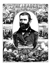 The Leader And His Battles -- Ulysses S. Grant von warishellstore