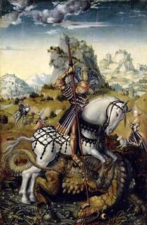 St. George  von Lucas Cranach the Elder