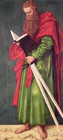 St. Paul  von Lucas Cranach the Elder