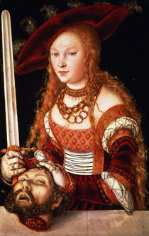 Judith with the head of Holofernes von Lucas Cranach the Elder