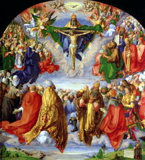 The Landauer Altarpiece, All Saints Day von Albrecht Dürer