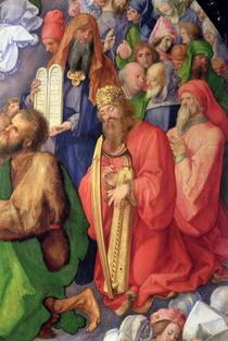 Landauer Altarpiece: King David von Albrecht Dürer