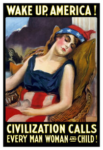 Wake Up America! Civilization Calls - WWI von warishellstore