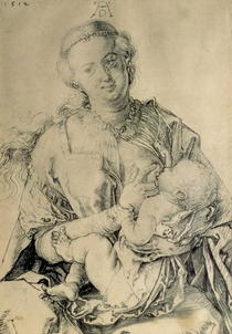 Virgin Mary suckling the Christ Child von Albrecht Dürer