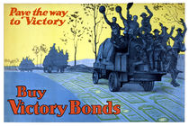 Pave The Way To Victory -- WWI Poster von warishellstore