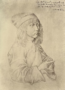 Self portrait at the age of thirteen von Albrecht Dürer