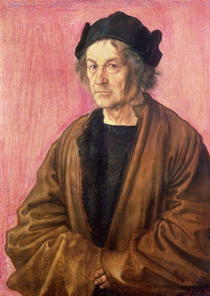 Albrecht Durer`s Father von Albrecht Dürer