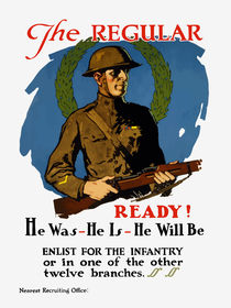Enlist For The Infantry -- WWI von warishellstore