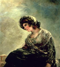The Milkmaid of Bordeaux by Francisco Jose de Goya y Lucientes