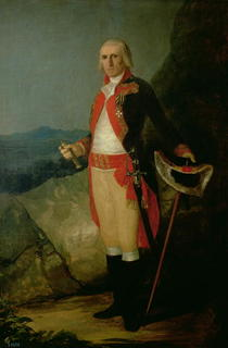 General Jose de Urrutia  by Francisco Jose de Goya y Lucientes