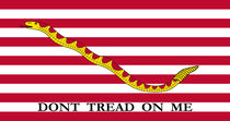 Don't Tread On Me -- First Navy Jack by warishellstore