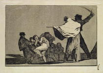 Well known Folly, from the Follies series by Francisco Jose de Goya y Lucientes