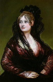 Dona Isabel de Porcel by Francisco Jose de Goya y Lucientes