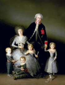 The Duke of Osuna and his Family by Francisco Jose de Goya y Lucientes