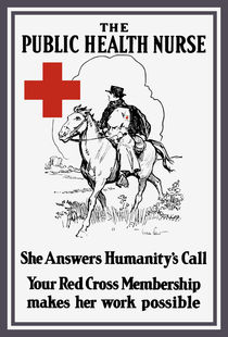The Public Health Nurse -- Red Cross von warishellstore