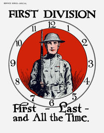 949-454-1st-division-first-last-all-the-time-ww1-poster