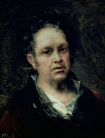 Self Portrait by Francisco Jose de Goya y Lucientes