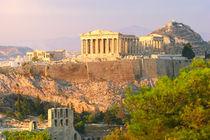 Akropolis, Athen by Jan Schuler