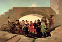 The Wedding von Francisco Jose de Goya y Lucientes