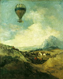 The Balloon or by Francisco Jose de Goya y Lucientes