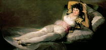 The Clothed Maja by Francisco Jose de Goya y Lucientes