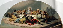 The Last Supper by Francisco Jose de Goya y Lucientes