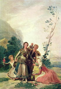 Spring or the Flower Seller by Francisco Jose de Goya y Lucientes