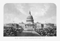 US Capitol Building Washington DC by warishellstore