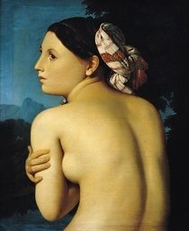 Female nude von Jean Auguste Dominique Ingres