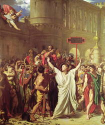The Martyrdom of St. Symphorien von Jean Auguste Dominique Ingres