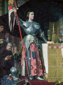 Joan of Arc  von Jean Auguste Dominique Ingres