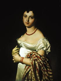 Madame Henri-Philippe-Joseph Panckouke  by Jean Auguste Dominique Ingres