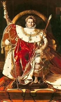 Napoleon I  von Jean Auguste Dominique Ingres