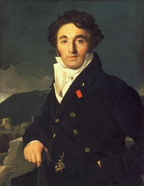 Portrait of Charles Cordier  von Jean Auguste Dominique Ingres