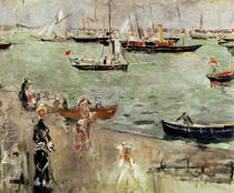 The Isle of Wight von Berthe Morisot