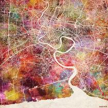 Bangkok map by Map Map Maps