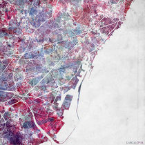 Barcelona map by Map Map Maps