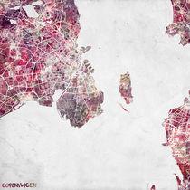 Copenhagen map by Map Map Maps