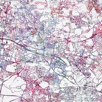 Glasgow map von Map Map Maps