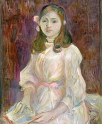 Portrait of Julie Manet  von Berthe Morisot