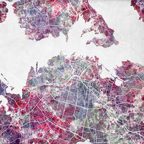 Auckland map by Map Map Maps