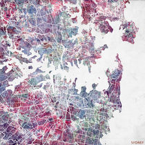 Sydney map by Map Map Maps