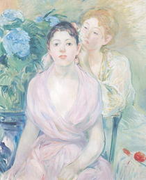 The Hortensia, or The Two Sisters von Berthe Morisot